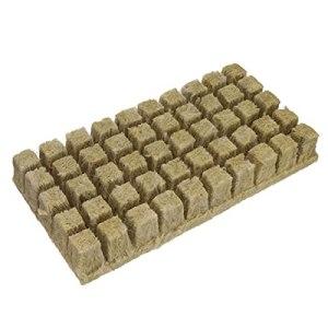 50 Cubes Grodan Rockwool Feuille de Volets Propagation Cloning Elevation Durable