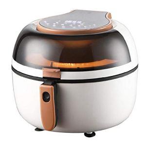 7L Digital Air Frither Santé bas gras Aucune cuisson à l'huile, ré Air Fryer glage de la température de la température Air Poulet Poulet et Veg White-7L