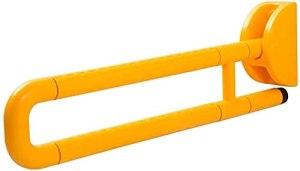 Acier inoxydable, rails auxiliaires de sécurité antidérapante pour personnes âgées, adaptés à la salle de bain, escaliers, cuisine (en option multiforme) (Couleur: jaune A, taille: 60 cm)