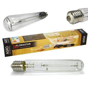Ampoule HPS 600W Double Spectre – FLORASTAR