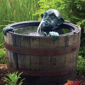 Aquascape Fontaine à eau pour jardin et étang – Patine – 78315
