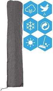 ATLANTIS Outdoor Housse de Protection pour Parasol Deporte Jusqu'à Ø 300 cm de Diamètre | Couverture | Anti-UV | Bâche