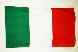 AZ FLAG Drapeau Italie 250x150cm – Grand Drapeau Italien 150 x 250 cm