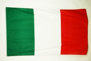 AZ FLAG Drapeau Italie 90x60cm – Drapeau Italien 60 x 90 cm Polyester léger