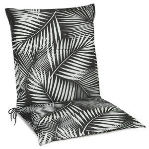 Beautissu Matelas Coussin pour Chaise Fauteuil de Jardin terrasse Tropic 100x50x6cm – Design Flower