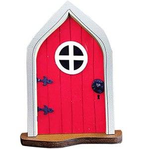BOMING Porte d'artisanat de porte de décoration de théâtre utilisée pour l'ensemble de porte de porte Elfin d'auto-assemblage