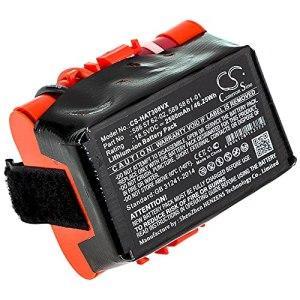 cellePhone Batterie Li-ION Compatible avec Gardena McCulloch Rob R600 R1000 – Husqvarna Automower 105 305 308 (Remplacement pour 586 57 62-02/589 58 61-01) – 2500 mAh / 18,5V
