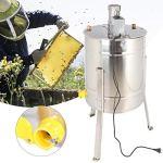Centrifugeuse électrique de Miel de Machine de centrifugeuse d'oney, apiculteurs de Ferme extérieure de Jardin d'outil(European Standard 220V)