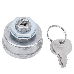 DSJSP Démarreur d'allumage de Tondeuse, Interrupteur de démarreur d'allumage de Tondeuse à 5 Broches avec pièce de Remplacement de clés adaptée, pour Parc extérieur