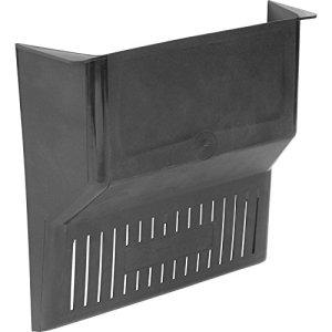 Easy-Fit Leaf Stopper Drain Cover – Black