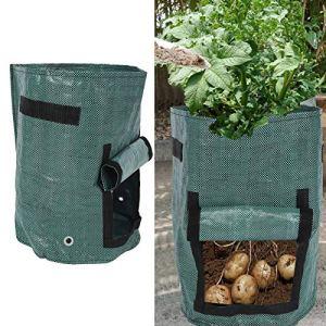 FECAMOS Sacs de Culture de Jardin, Sac de Culture de Plantes avec poignée pour Jardin pour intérieur