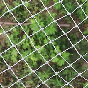 Filets De Sécurité, Balcon De Sécurité à Domicile Balcons Balcons D' Filet pour éviter de tomber Protection Animal De Compagnie Nets De Chat De Polyester Us(Size:1X2m/3.3X6.6ft,Color:Mesh: 5cm/2in)