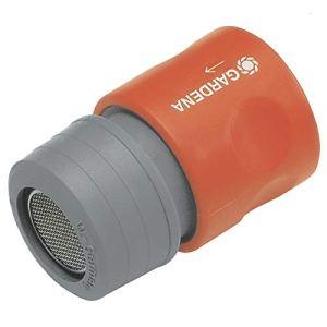 Gardena 2905-26 Conector difusor Se conecta al Macho Para grifos de rosca Exterior. en Blister, Gris, 30 x 20 x 20 cm
