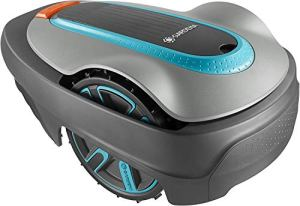 GARDENA SILENO city 300 | Tondeuse Robot jusqu'à 300m² avec Kit entretien – Tond sous la pluie et passages étroits, Bluetooth App, Très silencieux, Automatique – Robot de Tonte Pelouse (15300-47)