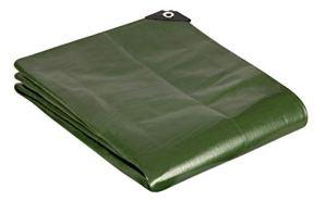 GardenMate Bâche de protection 2x2m qualité premium VERTE – résistante aux UV, imperméable et lavable
