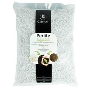 GebEarth – Perlite, jardinage pour plantes d'aménagement, perlite expansée, 5 L