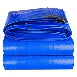 GFQTTY Bâches De Bâche Extérieures en PE Bleu, Couverture en Tissu De Parasol Imperméable De Jardin, Résistance À La Déchirure De Protection Contre Le Froid, Tissu Anti-Pluie Facile À Plier