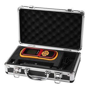 GM63B Mètre Vibration Portable à Haute Précision Ultrasonique Numérique LCD avec Sonde 0-40 ℃