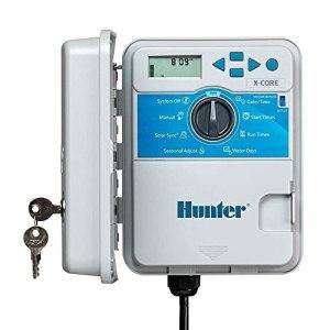 Hunter X-Core 801 Programmateur d'extérieur 230/240 V.c.a 8 stations, avec boîtier en plastique