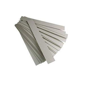 Jembal- Lot 1000 bandelettes lanières Carton Gris Format 220×35 m/m Contre Le varroa varoa Apiculture Bande Carton
