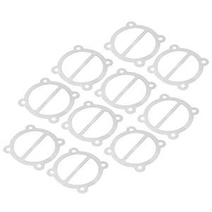 Joint en aluminium de compresseur d'air, joint de culasse en aluminium résistant à la corrosion pour le remplacement de la plaque d'étanchéité pour cylindre de 65 mm de diamètre