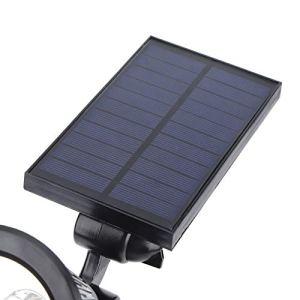 Lampes solaires de croissance pour plantes d'intérieur – Lampe de serre – Matériau ABS – Chargement automatique – Pour jardin, pelouse, cour