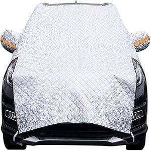 LGLSG Protection magnétique du Pare – Brise Automobile Silver