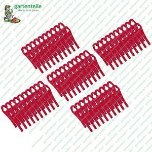 Lot de 100 lames en plastique pour coupe-bordures sans fil Florabest FAT 18 B3 – LIDL IAN 273039