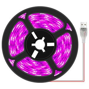 Matedepreso Bande lumineuse LED pour culture de plantes – Spectre complet – Étanche – Pour jardin d'intérieur – Pour serre – Taille : 0,5 m