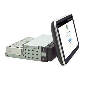 mcbeitrty Lecteur multimédia universel 1 DIN pour voiture – Écran 9 pouces – Autoradio stéréo vidéo GPS WiFi – Caméra de recul – Lecteur MP5