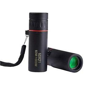 Mini monoculaire Portable, télescope de Mise au Point Portable, télescope monoculaire Haute définition étanche pour la Faune et la randonnée en Camping