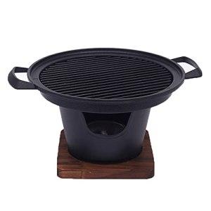 Mini UN BARBECUE Grillades portables Grill Petite personne à la maison Barbecue sans fumée Grill UN BARBECUE Plaque de four (Color : 1)