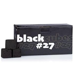 NameLess Charbon naturel pour narguilé 100 % coquilles de noix de coco Black Cubes 1 kg