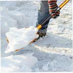 Neige Spade réglable en alliage d'aluminium de neige Spade Set Portable voiture neige Spade pour camping en plein air Jardin