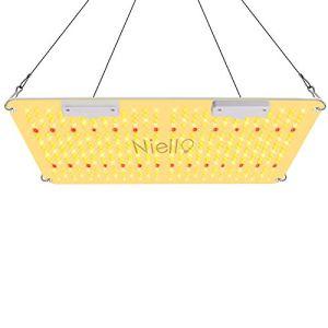Niello Lampe LED de croissance horticole de 2000 W, PPFD élevé offrant un éclairage similaire à la lumière du soleil, plein spectre, pour culture en intérieur de légumes et de plantes fleuries