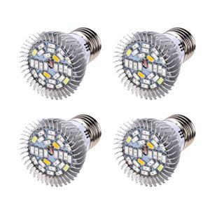 Osaladi Lot de 4 ampoules à incandescence 10 W 100-240 V 28 LED lumineuses à l'intérieur avec fiche en forme de vis
