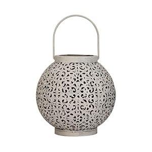 Pauleen 48180 Sunshine Jewel Lanterne Solaire pour Balcon ou Jardin en métal Blanc 3000 K