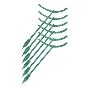 QKFON Support réutilisable en plastique pour plantes, plantes, légumes, fleurs et fruits, tuteurs pour jardin, cour et balcon
