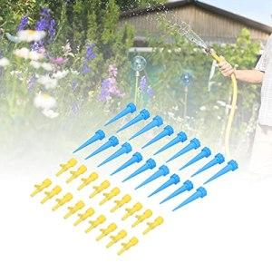 SALALIS Clou d'arrosage, Dispositif d'égouttement de Dispositif d'arrosage 18pcs pour Plantes en Pot(Blue)