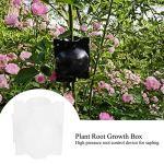 SALUTUY Boîte d'enracinement des Plantes ABS Boîte de Croissance des Plantes Solide, pour la Plantation, pour l'agriculture(White)