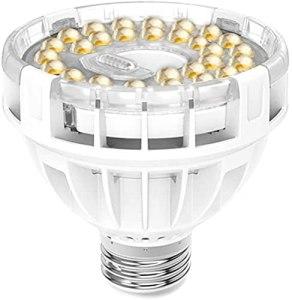 SANSI 150W équivalent Lampe de Croissance pour Intérieur Plante, E27 LED Lampe Ampoule Horticole à Spectre Complet avec COC Technologie, Full Spectrum Grow Light, CRI 95+, 1400lm, 25.000 Heures de vie