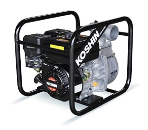 SEV80X – Pompe à eau avec moteur Koshin K180 de 4,2 CV – GTM-MW0800510K