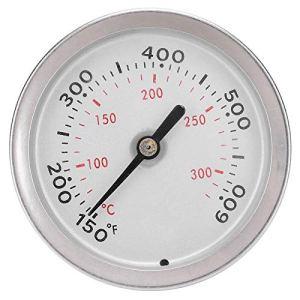 Thermomètre, thermomètre de cuisson, four à barbecue précis de taille compacte 150-600 ℉/70-320 Affichage de la température Alimentation de cuisine pour la cuisson