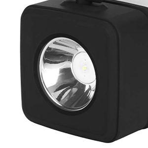 Ufolet Lampe de Nuit, Lampe de Bureau, Compact USB Portable pour équipement de Sauvetage Camping Randonnée Pêche(Noir)