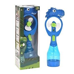 Ventilateur portatif, Ventilateur portatif de Grande capacité Adorable Dinasour et Mini Ventilateur d'humidification et d'hydratation