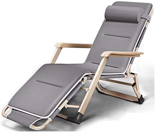WANGFENG Fauteuil Relax, Pliable Et RéGlable Chaise Longue Inclinable, Convient pour ExtéRieur, Cour, Plage, Piscine, Terrasse, Transat Jardin Etc