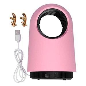 WJIN Lampe à moustiques, Tueur de moustiques Domestique Physique Moustique muet Alimentation USB Mouches d'intérieur et lumière Tueur de moustiques