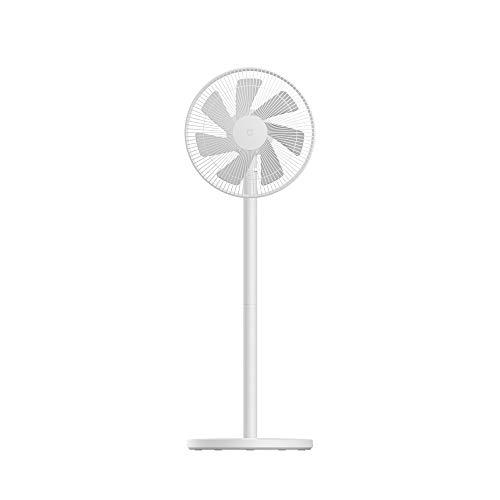 Xiaomi Mi Smart Standing Fan 2 Lite DE Ventilateur de table et sur pied avec connexion Apple iOS/Android Mi Home en option (38 W, 38-58 dB, 3 vitesses, compatible Alexa et Google Assistant)