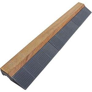 Xtiles Bordure pour Dalle Bois clipsable 118 x 19,5 cm