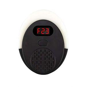XYQB LJJRépulsif ultrasonique, Lutte antiparasitaire avec Affichage numérique Intelligent, 3 Packs de Plug-ins électroniques d'intérieur pour repousser Les moustiques et Les Souris